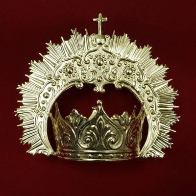 Corona Virgen orfebreria La Casa Del Cofrade