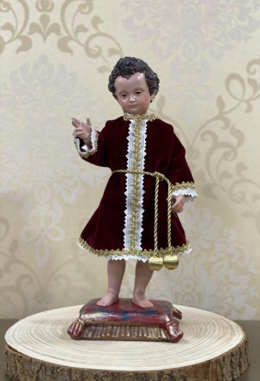 Niño Jesus Montañes en resina La Casa DelCofrade