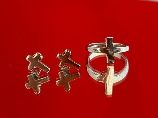 Pendientes de cruz Tienda Cofrade REgalos Cofrades