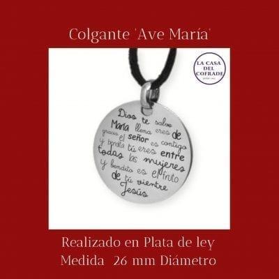 Colgante Ave Maria