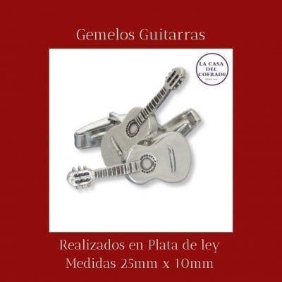 Gemelos guitarras Regalos Cofrades Tienda Cofrade La Casa Del Cofrade