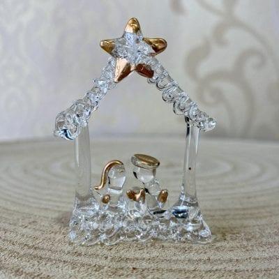 belen casita de cristal la casa del cofrade