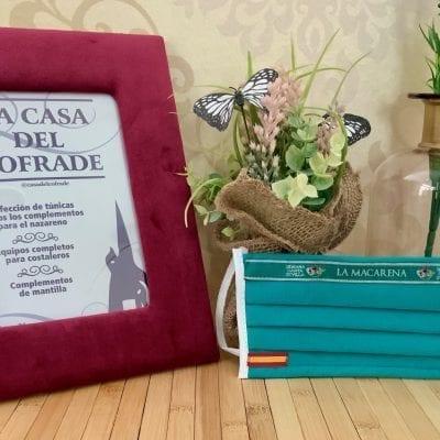 Mascarilla TNT La Macarena la Casa Del Cofrade