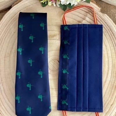 Mascarilla y corbata El Giraldillo La Casa Del Cofrade