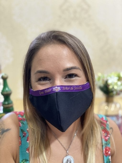 MASCARILLA SEÑOR DE SEVILLA GRAN PODER LA CASA DEL COFRADE