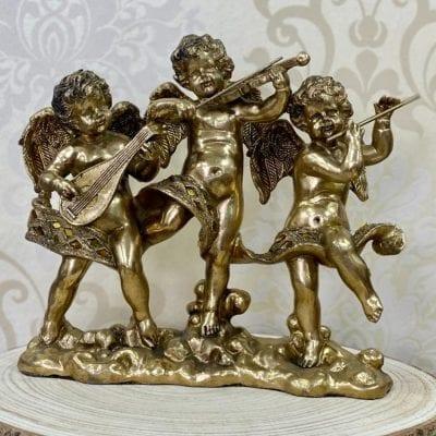 trio angeles musicos la casa del cofrade