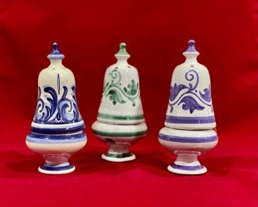 Incensarios cerámica esmaltada campana
