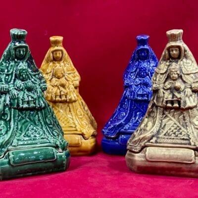Incensario esmaltado Virgen de los Reyes
