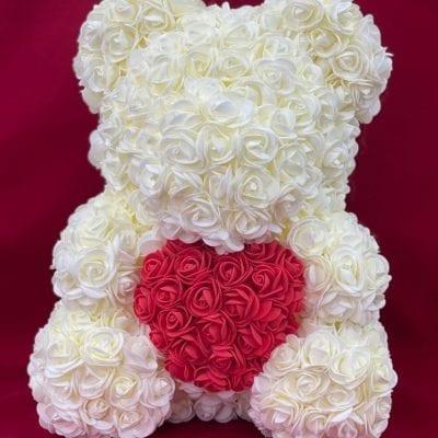 oso blanco foam san valentin