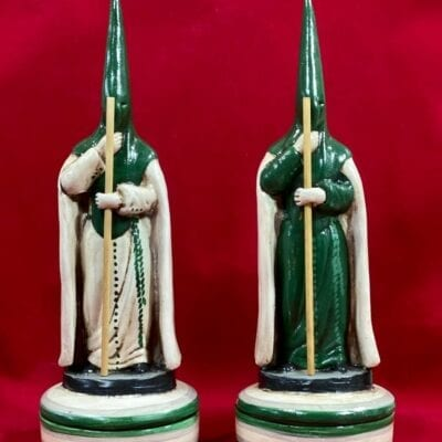 incensarios de cerámica de nazarenos